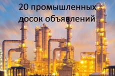 Размещаю объявления по вашей базе досок 22 - kwork.ru