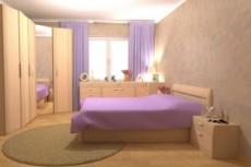 3D модель квартиры 39 - kwork.ru
