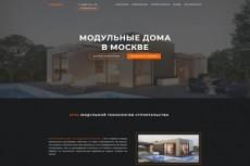 Сделаю красивый Landing Page, рекламный сайт, визитку 4 - kwork.ru