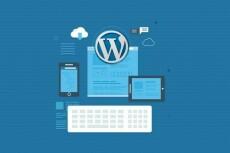 Настройка готового шаблона на вашем сайте WordPress 20 - kwork.ru