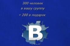 1000 живых участников в группу Facebook, Фейсбук 4 - kwork.ru