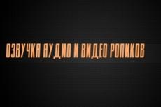Диктор для ваших проектов 26 - kwork.ru
