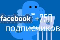 200 подписчиков с фильтрами в паблик Facebook. Не группа. Гарантия 19 - kwork.ru