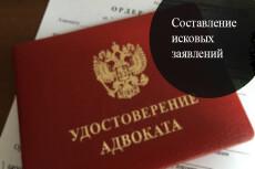 Подготовлю исковое заявление 20 - kwork.ru