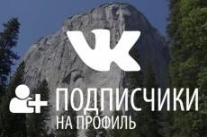 раскручу аккаунт Instagram 10 - kwork.ru