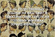 25 качественных ссылок с ИКС от 1000, выгодное продвижение + бонус 13 - kwork.ru