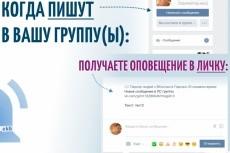 Видеоинструкция о подписках на Вашу VK группу, уведомл. и ЛС рассылку 38 - kwork.ru