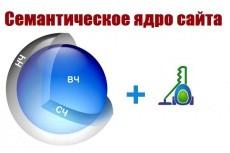 Семантическое ядро для сайта и контекста 18 - kwork.ru