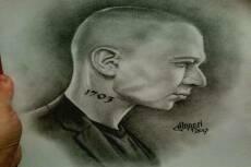 Нарисую портрет карандашом с фотографии 29 - kwork.ru