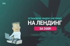 установлю Google Analytics, Яндекс Метрику, настройка целей 8 - kwork.ru