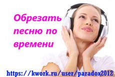 Редактирование аудио 23 - kwork.ru
