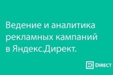 Настройка Яндекс Директ от А до Я 7 - kwork.ru