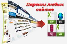Парсинг с открытых источников. 1000 контактов 10 - kwork.ru
