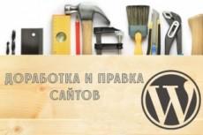 Wordpress установка, настройка, правки 18 - kwork.ru