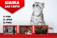 Дизайн странички  для вашего сайта 10 - kwork.ru