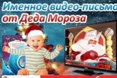 Новогоднее предложение! Персональное поздравление от Деда Мороза 8 - kwork.ru