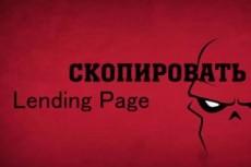 Сделаю копию одностраничника 23 - kwork.ru