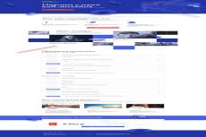 Верстка сайта HTML+CSS по дизайн макету PSD 43 - kwork.ru