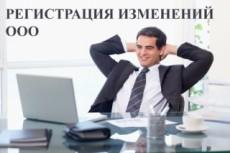 Подготовка документов для внесения изменений ООО 20 - kwork.ru