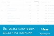 Достану ключевые слова ваших самых успешных конкурентов 11 - kwork.ru