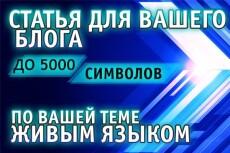 Написание , рерайт/копирайт текстов с/или без вставки фотоиллюстраций 14 - kwork.ru