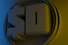 Создам 3д логотип 21 - kwork.ru