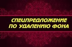 сделаю обтравку изображения (удаление фона) 10 - kwork.ru