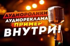 Озвучу рекламный видеоролик 40 - kwork.ru