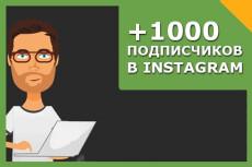 5000 Подписчиков в Инстаграм с гарантией 22 - kwork.ru