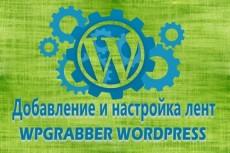 Установлю с нуля сайт на wordpress и настрою основные плагины 5 - kwork.ru
