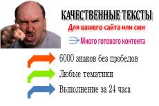 5 сайтов в статейном контенте за 500 рублей с авто наполнением 8 - kwork.ru