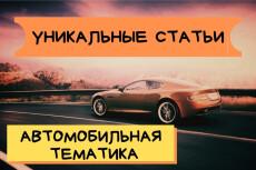 Напишу текст на автомобильную тематику 10 - kwork.ru