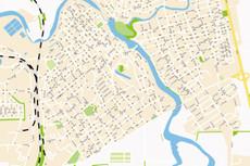 Векторизация карт и планов 9 - kwork.ru