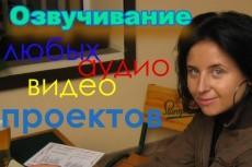 Озвучу видеоролик, автоответчик, голосовое меню, персонажа 14 - kwork.ru