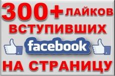 500 участников в вашу группу Facebook 14 - kwork.ru