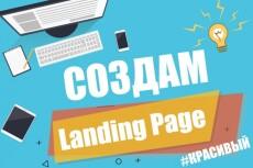 Создам уникальный адаптивный Landing Page 17 - kwork.ru