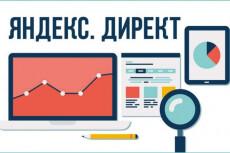Яндекс. Директ - Настройка контекстной рекламы. 100 ключевых фраз 17 - kwork.ru