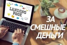Сделаю уникальный Landing Page 25 - kwork.ru