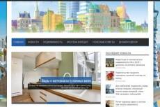 Строительный сайт на WordPress + 19 статей 54 - kwork.ru