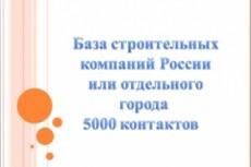 Сбор нужных вам баз данных 20 - kwork.ru