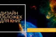 Сделаю профессиональную обложку для книги 24 - kwork.ru