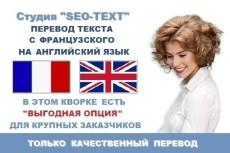 Перевод текста с английского и на английский 10 - kwork.ru