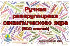 Семантическое Ядро до 500 вручную отфильтрованных запросов 13 - kwork.ru