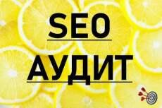 SEO анализ для продвижения сайта в поисковиках Google и Яндекс 2018 14 - kwork.ru