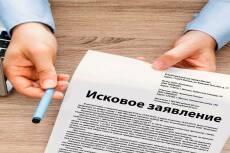 Составление исков 18 - kwork.ru
