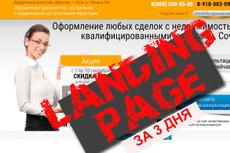 сделаю профессиональный Landing Page 13 - kwork.ru
