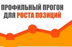 Прогон по профилям 10 - kwork.ru