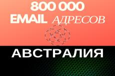 База проверенных e-mail адресов Франции - 700000 контактов 21 - kwork.ru