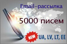 Рассылка писем 13 - kwork.ru