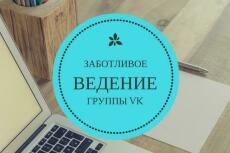 накрутка живых и активных пользователей Вк 3 - kwork.ru